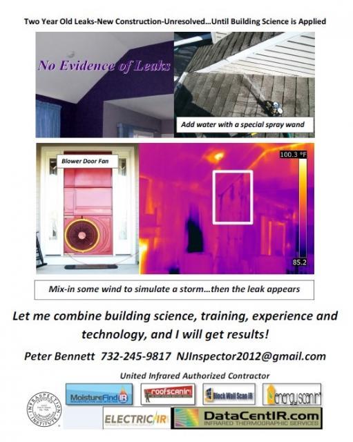 New-Construction-Warranty-Window-Door-Roof-Skylight-Chimney Leak detection - Hurricane-Nor'easter-New Jersey